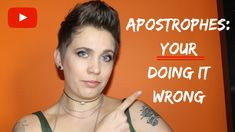 Learn how to use apostrophes properly and see what happens when they go horribly wrong! #writing #writingtips #punctuation