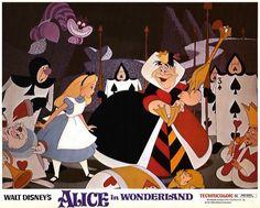Alice in Wonderland 1951 Disney Art, Walt Disney, Kathryn Beaumont, Ed Wynn, Queen Of Hearts Alice, Alice In Wonderland 1951, White Rabbits, Mickey Mouse, Disney Characters