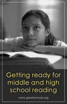 Tools your child will need to succeed in middle and high school reading. #reading