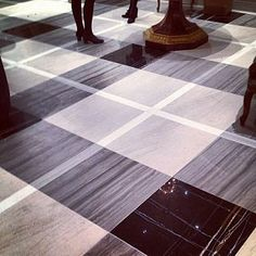 marble floor at brunswig and fils