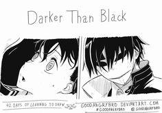 Manga training Darket Thank Black by goodangrybro