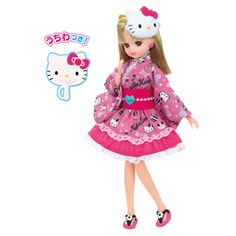 Hello Kitty I love Rika-chan yukata dress | Rika | Products | Tomy Purchased 3/2015
