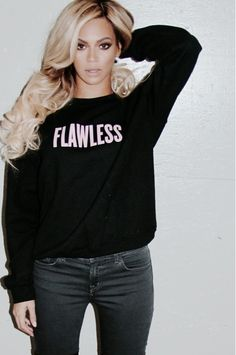 Beyonce flawless sweater Like, Comment, Repin !!