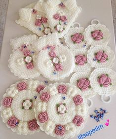 Image may contain: food - Woman Hair Style Rakhi Greetings, Teachers Day Card, Flower Granny Square, Bobble Stitch, Decorate Notebook, Crochet Designs, Crochet Doilies, Knitting, Pattern