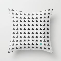Minimalism 1 Throw Pillow by Mareike Böhmer Graphics - $20.00