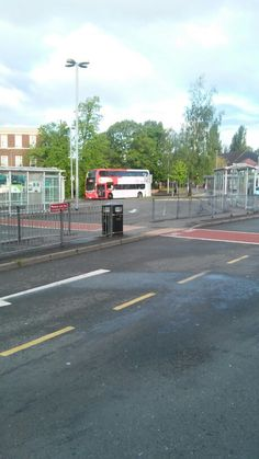 Cannock Bus Station. About to catch the X51 to Walsall.