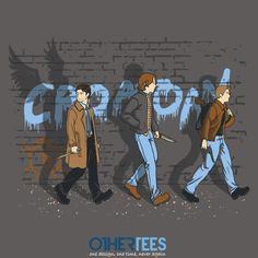 Hunting Road T-Shirt $12 Supernatural tee at OtherTees!