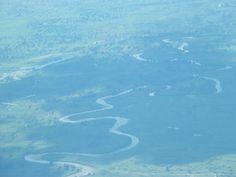 Aerial View of River Mara