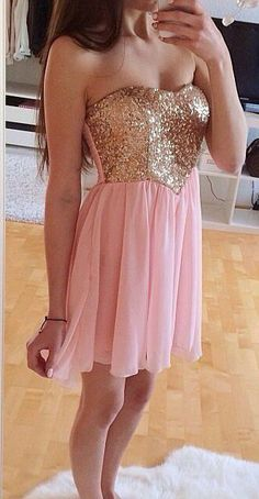 Pink Homecoming Dress,Homecoming Dresses,Beading Homecoming Gowns,Short Prom Gown,Pink Sweet 16 Dress