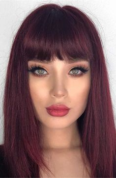 Plum Hair, Red Brown Hair, Burgundy Hair, Violet Hair, Red Hair On Dark Hair, Dark Fall Hair, Dyed Tips, Hair Dye Tips, Shades Of Red Hair