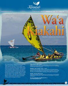 Join us May 31st - June 2nd for Wa'a Kiakahi! #WaaMaui13 #Kaanapali #Maui