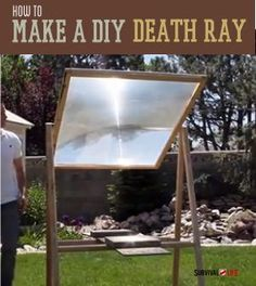 Learn how to turn an old television into a 2000 degree death ray! Survival Life is the best source for survival tips, gear and off the grid living.