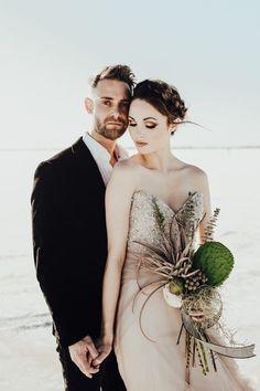 This unique bouquet is one our favs by far!   Image by Rachel Photographs  #bouquet #weddingbouquet #bridalbouquet #bouquetinspiration #cactus #modernwedding #wedding #weddinginspo #weddinginspiration #contemporarywedding #highfashion #weddingdress #bridalfashion #bridalstyle #bridalinspiration #bride #groomstyle #groom #groomfashion   #groominspiration