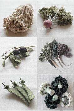 Remarkable Crocheted Vegetables | Jung Jung