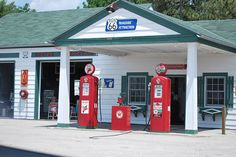 old gas stations | Old Texaco gas Station | Flickr - Photo Sharing!