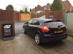 2012 Ford Focus in this morning for 18% Carbon tints to the rear.