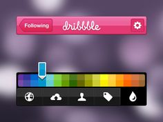 Dribbble-ios#Repin By:Pinterest++ for iPad#