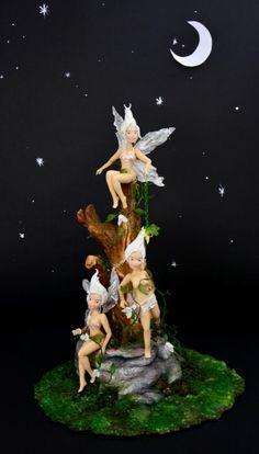 The fairies' tree  - cake by Rodica Bunea