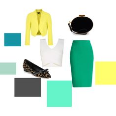 #earth #tones #workday #inspiration #office #noir #crepe #pencil #skirt #cropped #jacket #cross #cropped #white #leather #flats