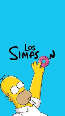 the Simpsons wallpaper Simpson Wallpaper Iphone, Apple Wallpaper Iphone, Cartoon Wallpaper, Wallpaper Desktop, Girl Wallpaper, Disney Wallpaper, Wallpaper Quotes, Wallpaper Backgrounds, Simpsons Donut