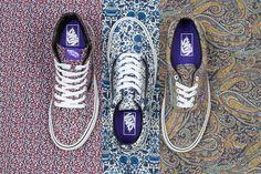 Vans and Liberty Art Fabrics together