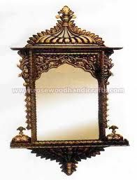 Would love to use this wooden jharokha as a wall piece and a frame for artwork.