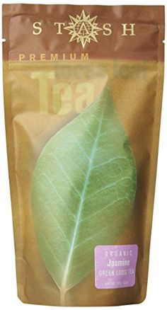 Stash Tea Organic Jasmine Green Loose Leaf Tea 35 Ounce Pouch -- Find out more about the great product at the image link. (This is an affiliate link and I receive a commission for the sales)