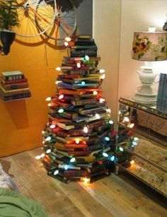 i do love this... however, it also reminds me of working at college bookstores and doing this with hundreds of calculus and bio textbooks.