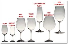 what isdifferenceion white an red wine glass | ... Life: Wine Wednesday: Decanting and Choosing the Right Wine Glass