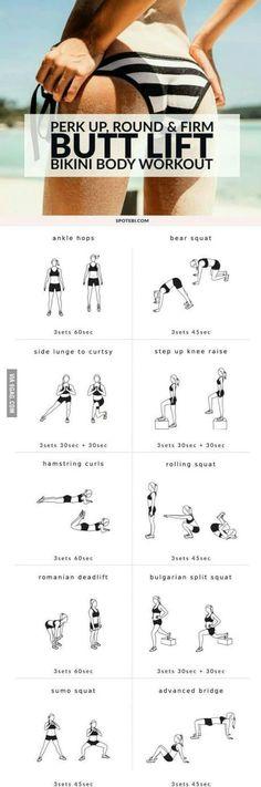 Summer butt #workout...