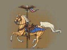 July Fourth Carousel by lunatteo on DeviantArt