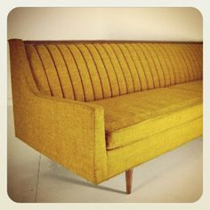 Awesome mid-century couch.