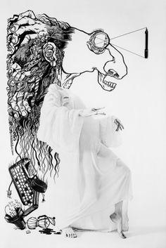 """""""The Illustrated"""" est un projet personnel du photographe anglaisBen Hopper, qui a travaillé en collaboration avec une variétéde graphistes illustrateurs et typographes."""