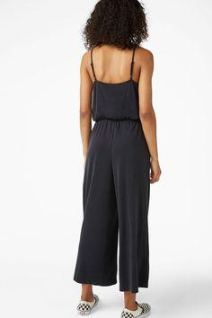 6eab17a97703 Super-soft wrap jumpsuit - Black magic - Jumpsuits