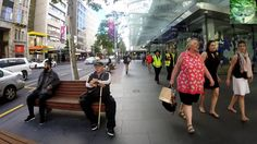 Out and About - Going for a walk down Queen Street, Auckland, New Zealand