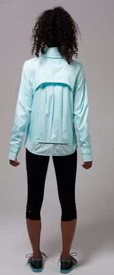hood zips out to keep you dry in a drizzle. | Speed Ahead Jacket