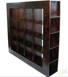 Regał drewniany na książki, M3 - Meble