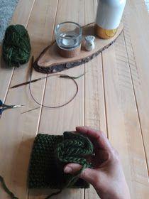 Marikari: Gebreide haarband met patroon Cross Stitch Alphabet Patterns, Shawl, Projects To Try, Crochet, Diy, Cowls, Women, Bandana, Knitting Patterns