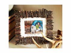 Dekor DIY Tip: Rámik z lesa