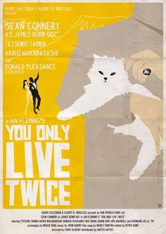 A Year of Spy Films 357/365 You Only Live Twice (1967 United Kingdom) The International Spy Film Guide Score: 9/10 #isfg #spyfilmguide #jamesbond #ianfleming #seanconnery #miehama #spymovie #spyfilm #spectre #blofeld #alainbossuyt https://www.kisskisskillkillarchive.com https://society6.com/alainbossuyt/prints