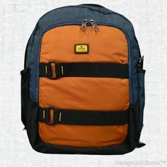 Features: Adjustable, padded shoulder straps with top handle.Double compartments with:  2 mesh side pockets, water bottle pocket, organiser, mobile pocket, headphone slot and address tag. Light weight, bottom protector to reduce daily wear and tear.