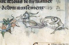 Literary, MS G.24 fol. 64v - Images from Medieval and Renaissance Manuscripts - The Morgan Library & Museum