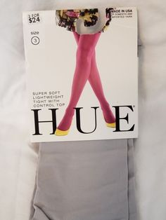 9bbb46c68 HUE Super Soft Lightweight Tights Chrome Size 3  fashion  clothing  shoes   accessories  womensclothing  hosierysocks (ebay link)