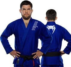 Venum Contender Jiu Jitsu Gi-Blue. Venum Contender Jiu Jitsu Gi-Blue    Jiu-jitsu Gi     Features:      350 GSM Pearl weave cotton jacket       Soft twill cotton pants       Strong reinforcements throughout       Embroidery and applique graphics       Pre-shrunk, aerated cotton materials       Contrast stitching       Round cord drawstring       Multiple loop system          item:UN-JJ-07209