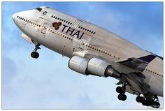 Boeing 747 Thai   Flickr - Photo Sharing!