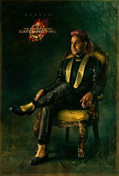 Catching Fire Character Portrait – Caesar Flickerman