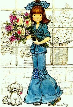 sarah kay - Page 3 Sarah Key, Holly Hobbie, Sweet Memories, Childhood Memories, Mary May, Sweet Pic, Vintage Drawing, Creative Pictures, Anne Of Green Gables