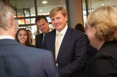 King's visit during the opening of the 2015-16 Academic year