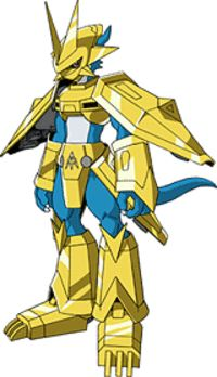 Official Toei image of Magnamon from Digimon Adventure 02 Dog Armor, Digimon Adventure 02, Digimon Frontier, Digimon Digital Monsters, Cartoon Tv Shows, Character Wallpaper, Anime Fantasy, Ghost Rider, Fantasy Creatures