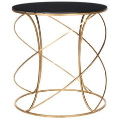 Cagney Accent Table Black.